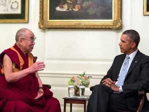 Obama and Lama