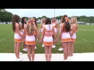 cheerleaders for god