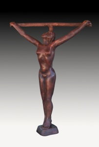 woman on cross