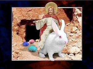 bunny and jesus