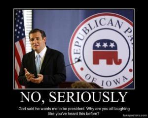Cruz-God wants me