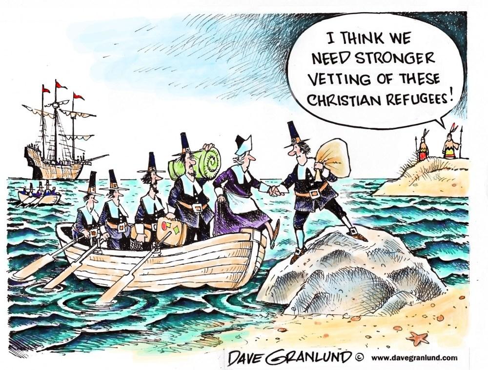 Pilgrim Refugees