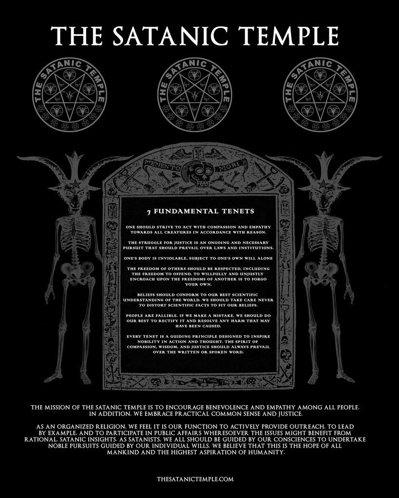 Satanic Temple tenets