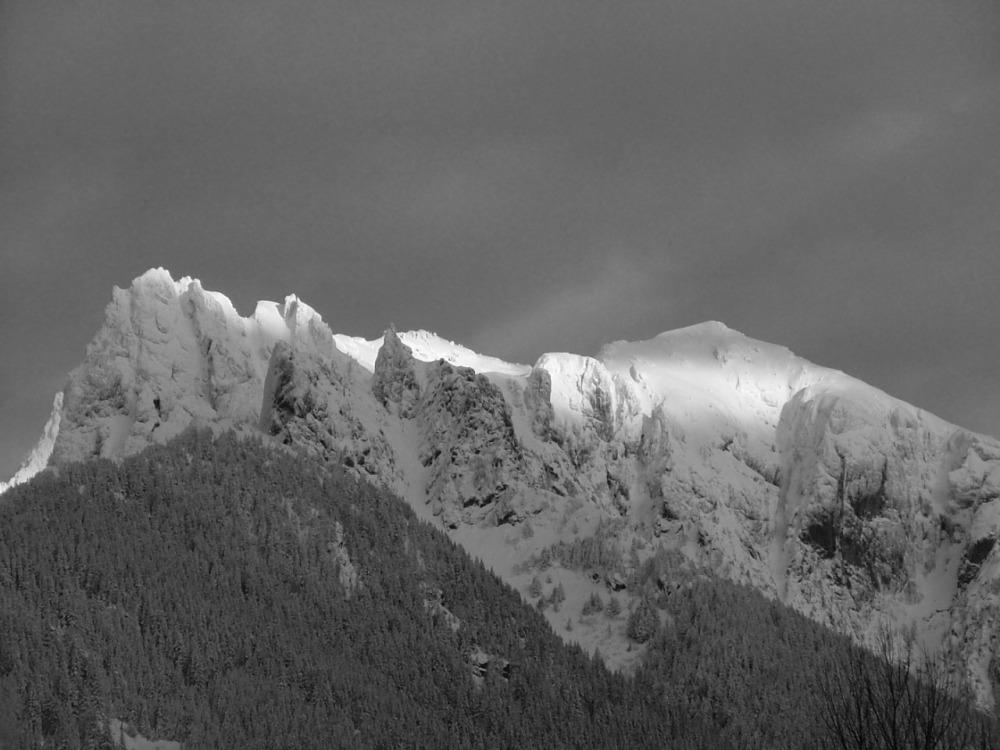 Cascade Mountain in Winter