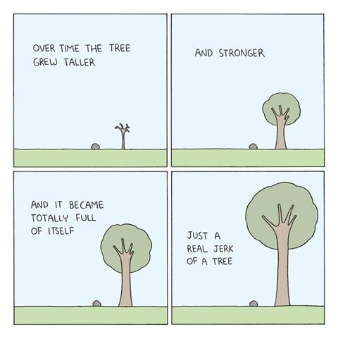 jerk-of-a-tree