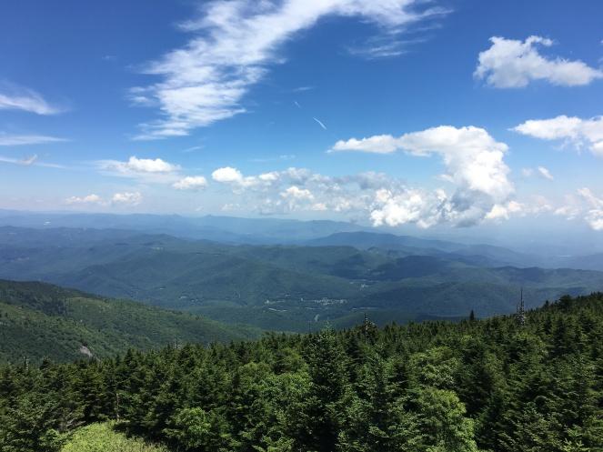 From Mt. Mitchell, Blue Ridge, NC