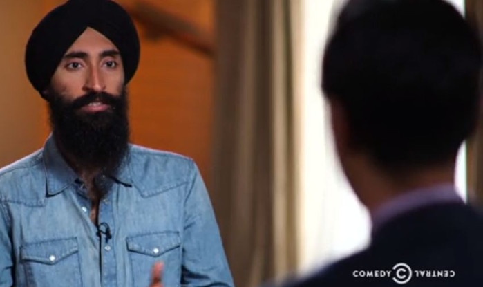 Sikh on Daily Show